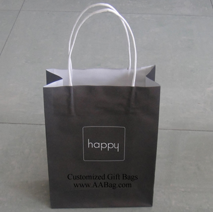 Kraft Paper Bag with logo