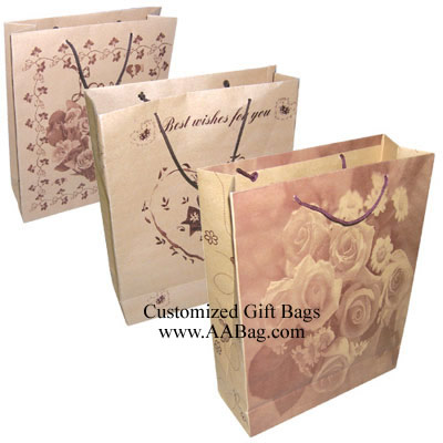 Shopping Bag with flower design