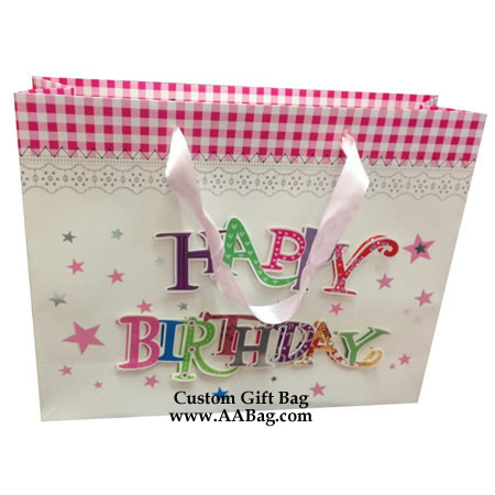 Luxury Birthday Party Bag with 3D design