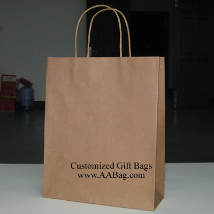Brown Kraft Paper Bag without logo
