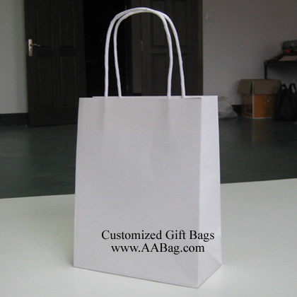 White Kraft Bag