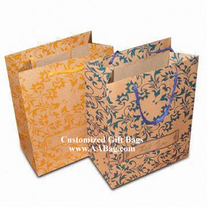 Kraft Paper Bag with Everyday design