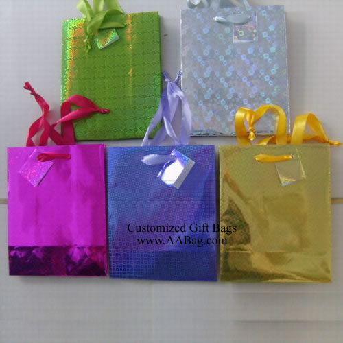 Small Hologram Gift Bags